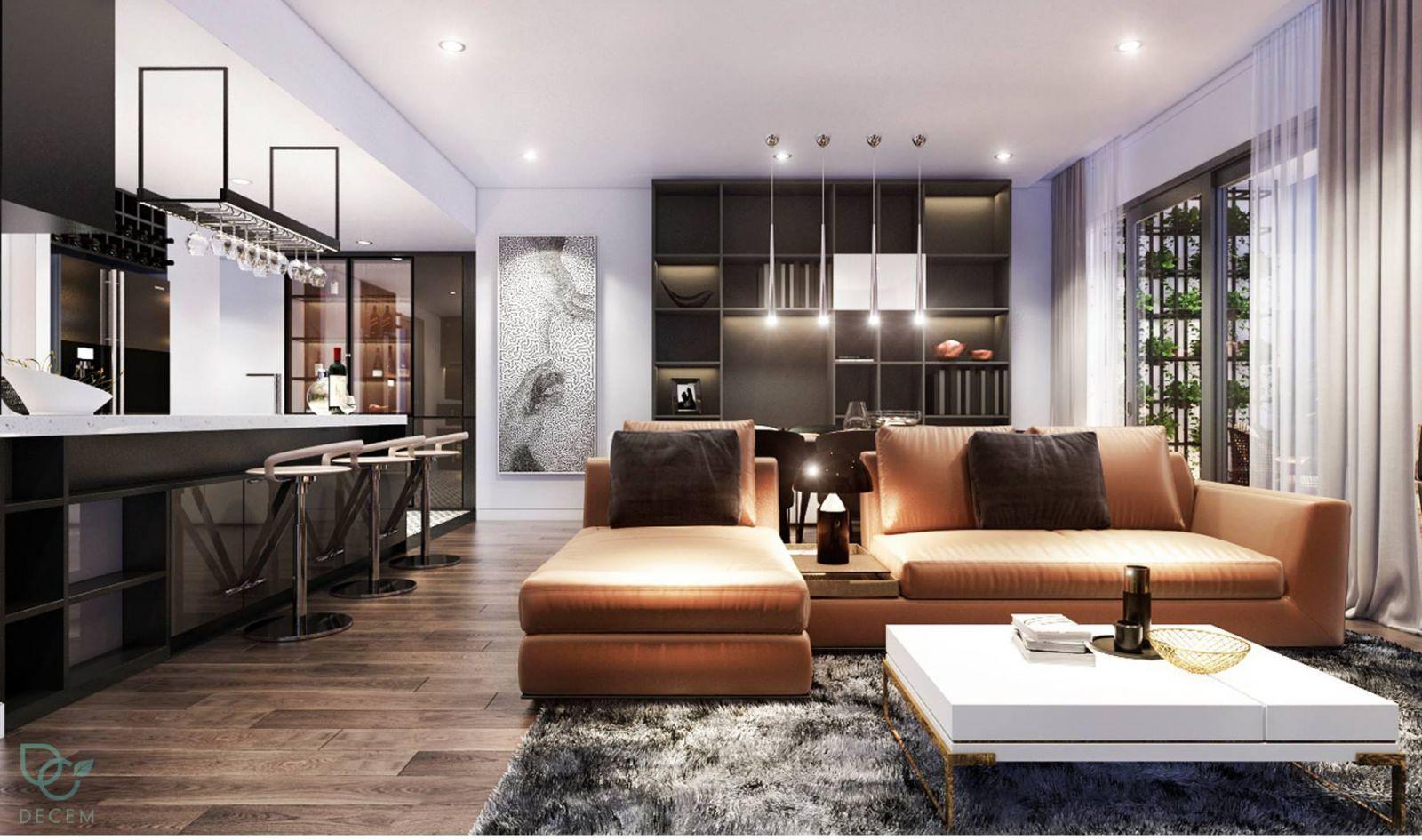 thiết kế căn hộ Rivera Point