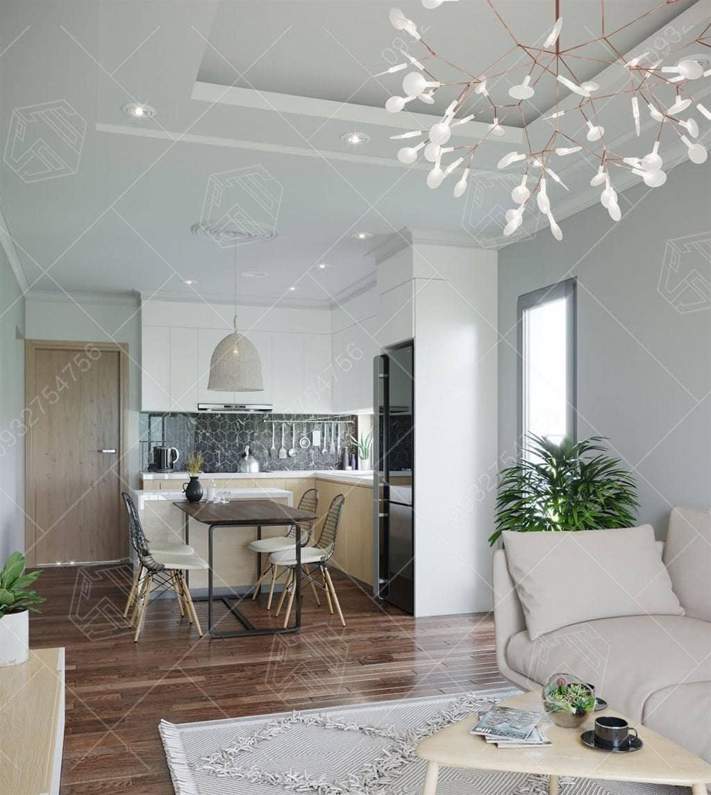 thi công thiết kế căn hộ chung cư anh toan phu nhuan