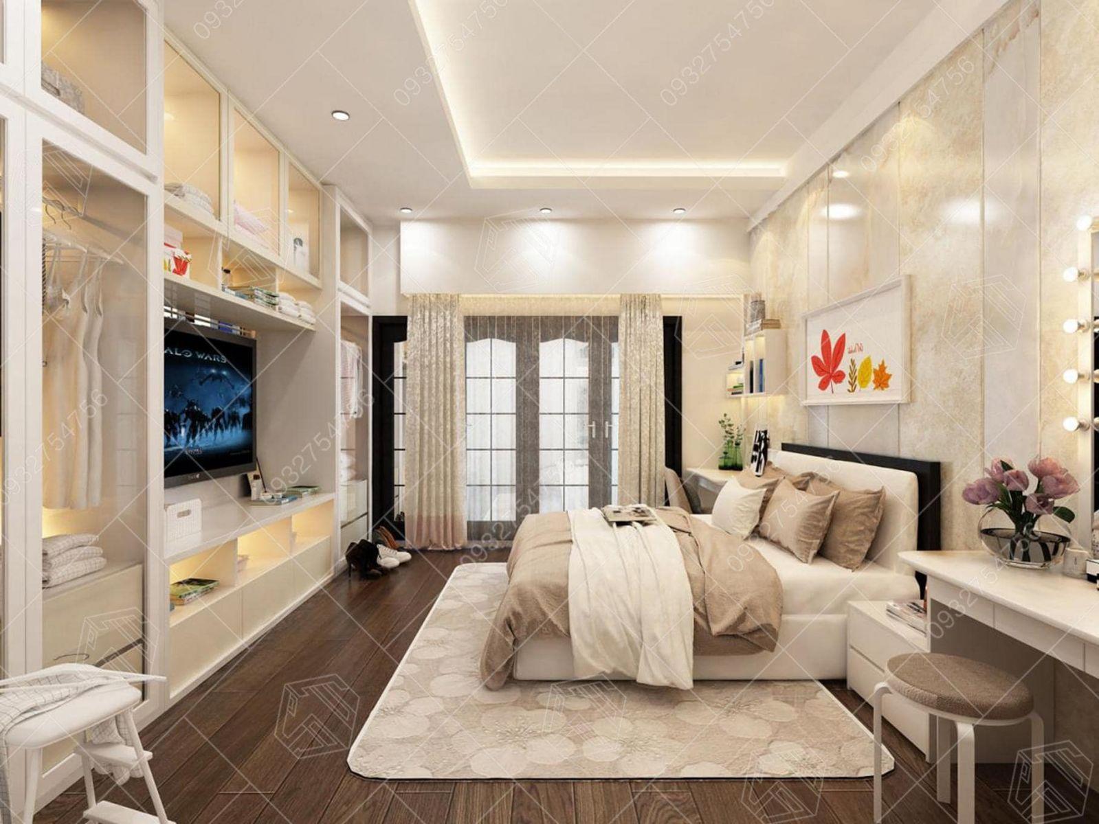 thiết kế thi công căn hộ chung cư hoàng gia