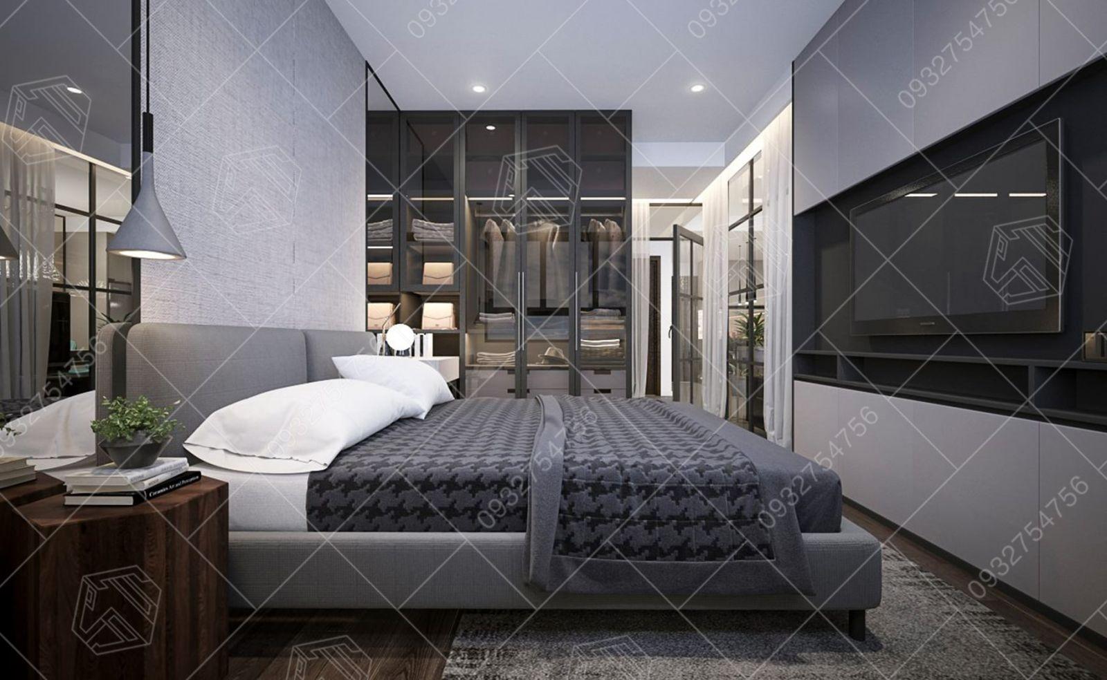 thiết kế căn hộ wil tower chị nhung