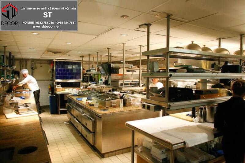 thiết kế nhà hàng quán ăn
