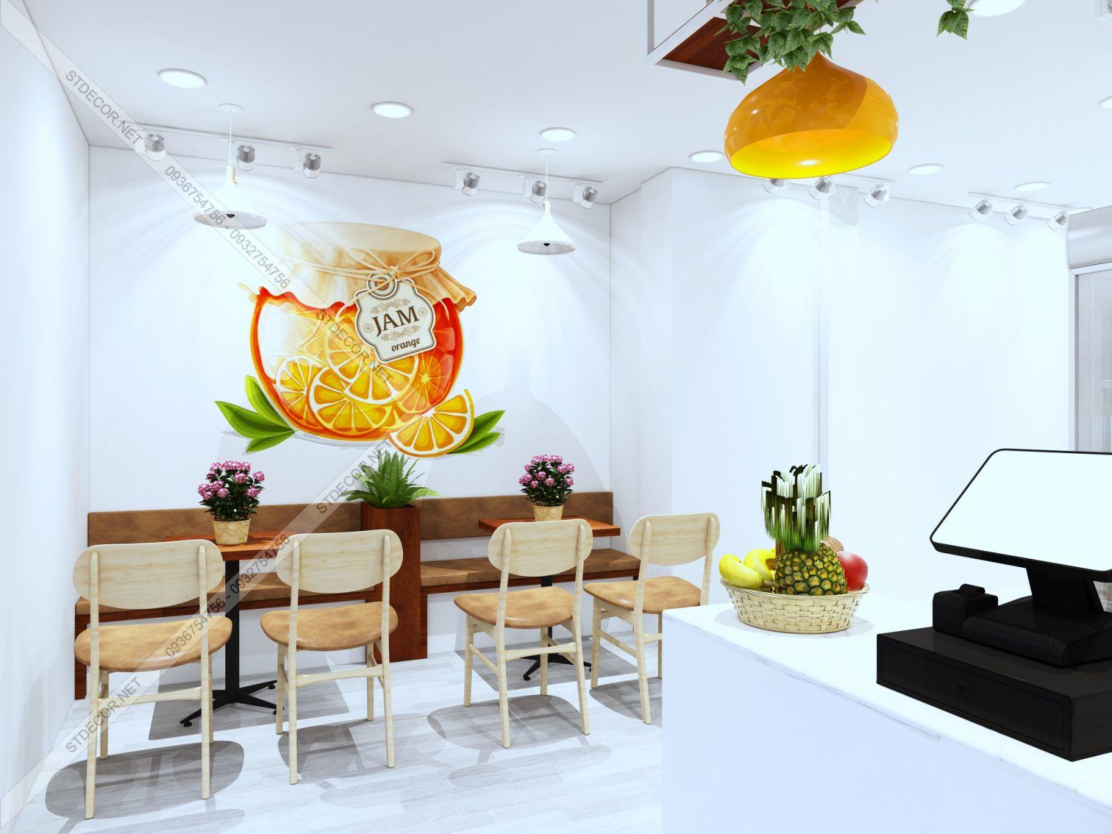 thiết kế quán trà chanh tại tp hồ chí minh