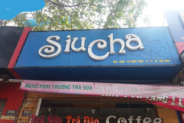 quán trà sữa view đẹp ở Gò Vấp