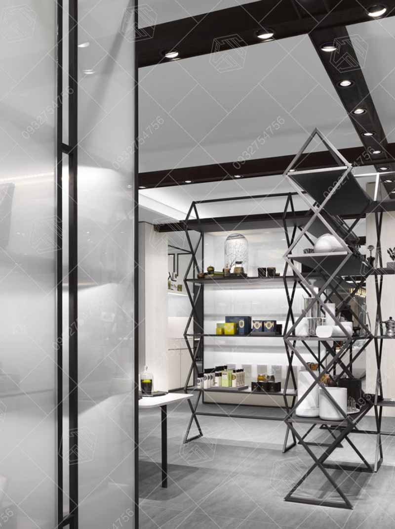 các mẫu thiết kế cửa hàng thời trnag