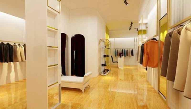 cách thiết kế shop thời trang