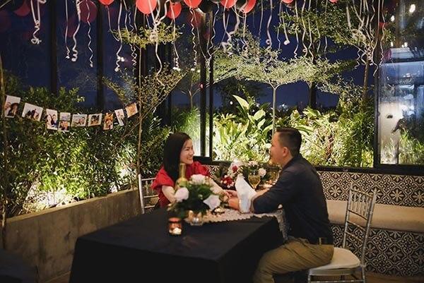 trang trí quán cafe lãng mạn