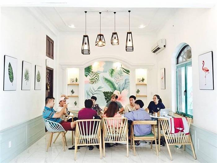 cafe phong cách hội họp