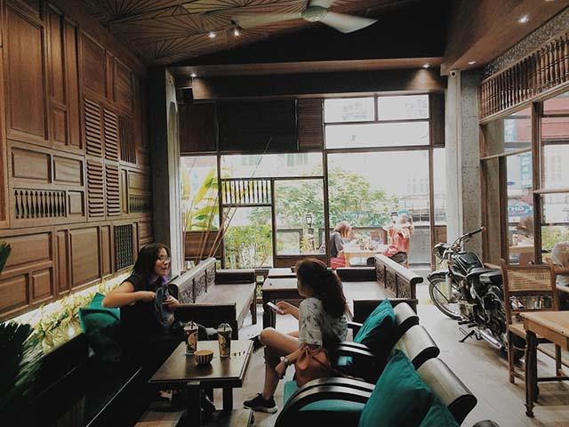cafe thưởng thức