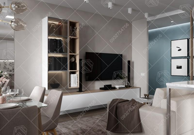 Thiết kế thi công căn hộ tại Quận 2, Tp HCM