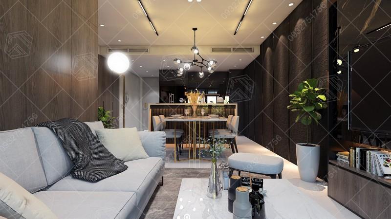 Hình ảnh thiết kế căn hộ tại quận Bình Thạnh