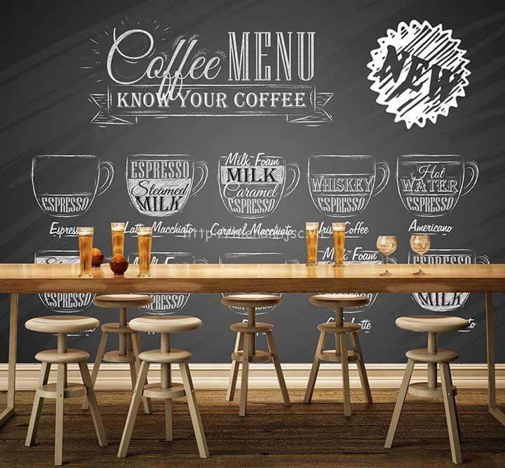 Kích thước bàn ghế cafe tiêu chuẩn