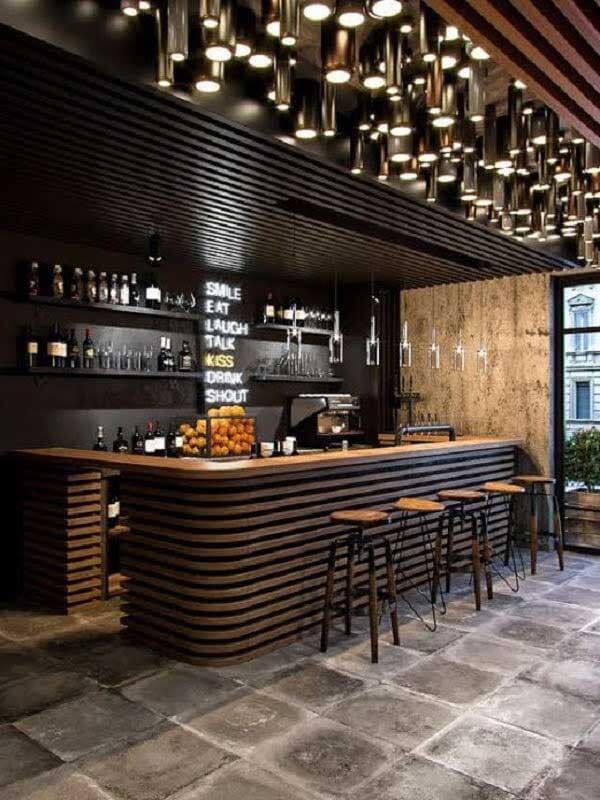 Kích thước quầy bar quán cafe