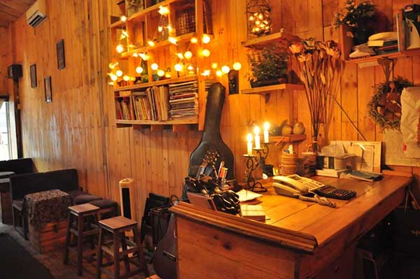 Mô hình quán cafe Acoustic