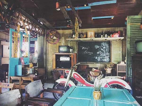 Mô hình quán cafe cổ điển