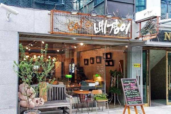 Mô hình quán cafe mang đi