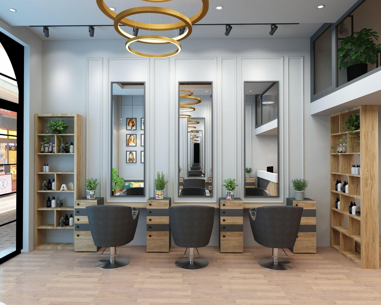 thiết kế salon hair