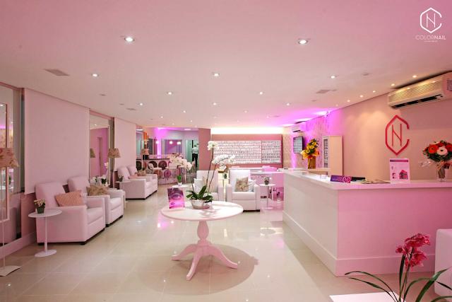 thiết kế tiệm nail