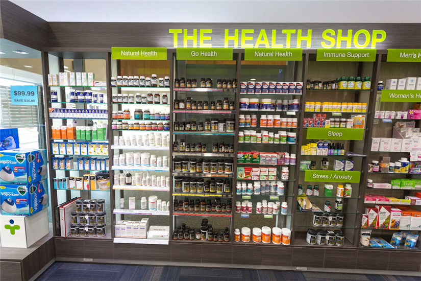 THIẾT KẾ THE HEALTH SHOP