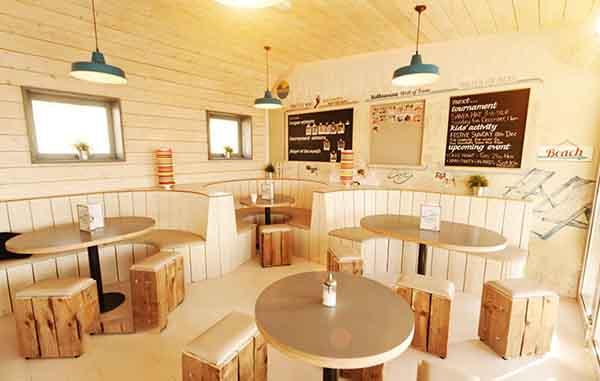 những mẫu thiết kế quán ăn đep