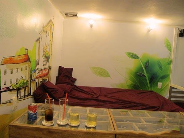Q Cafe & Studio – Quán cafe ngủ trưa lãng mạn ở Sài Gòn