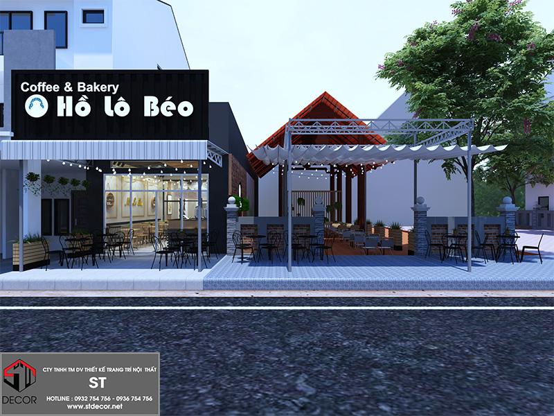 thiết kế quán cà phê bình dương