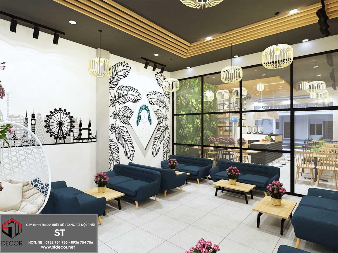 thiết kế quán cà phê bình dương đẹp nhất