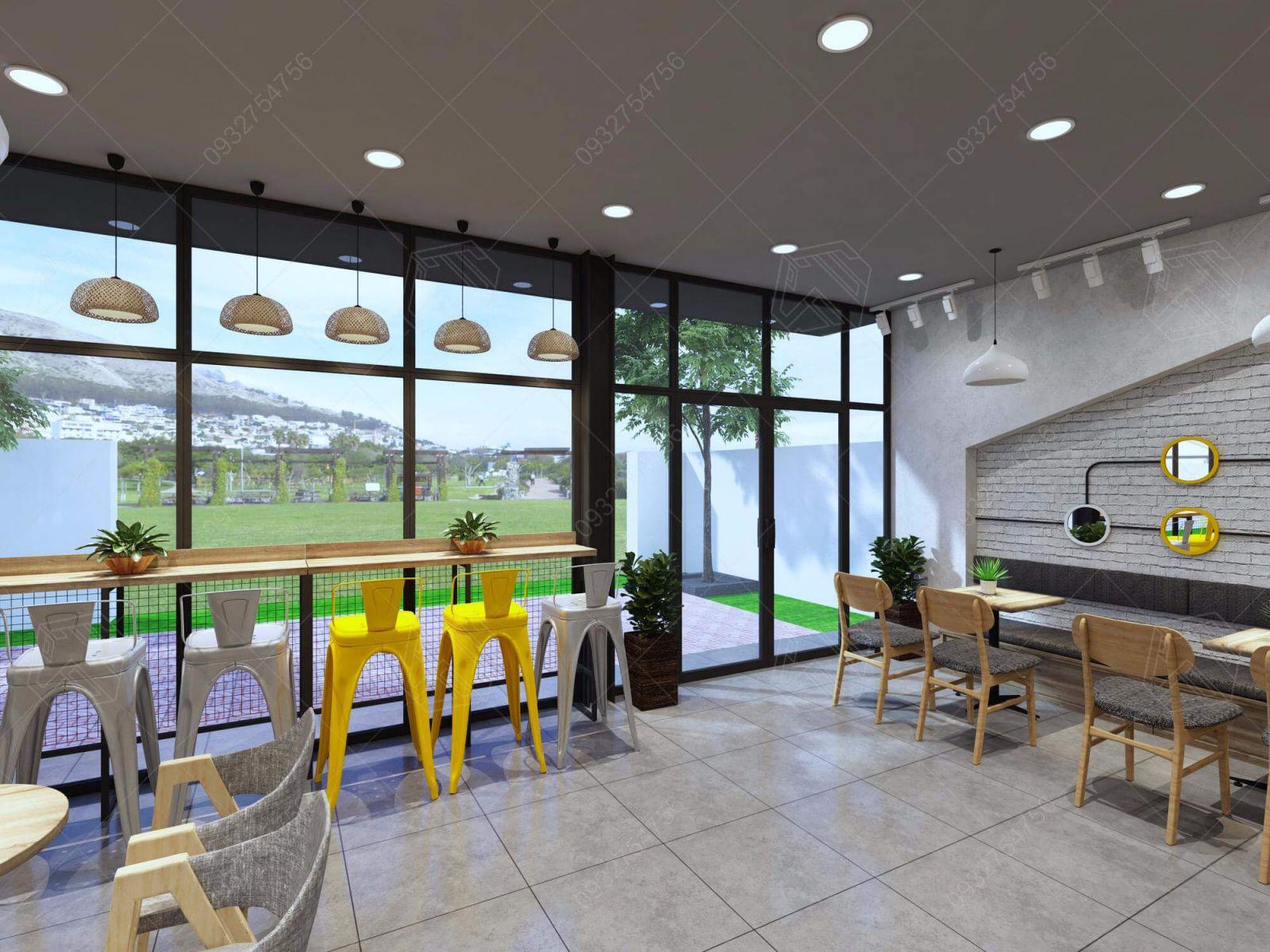 thiết kế quán cà phê nhơn trạch