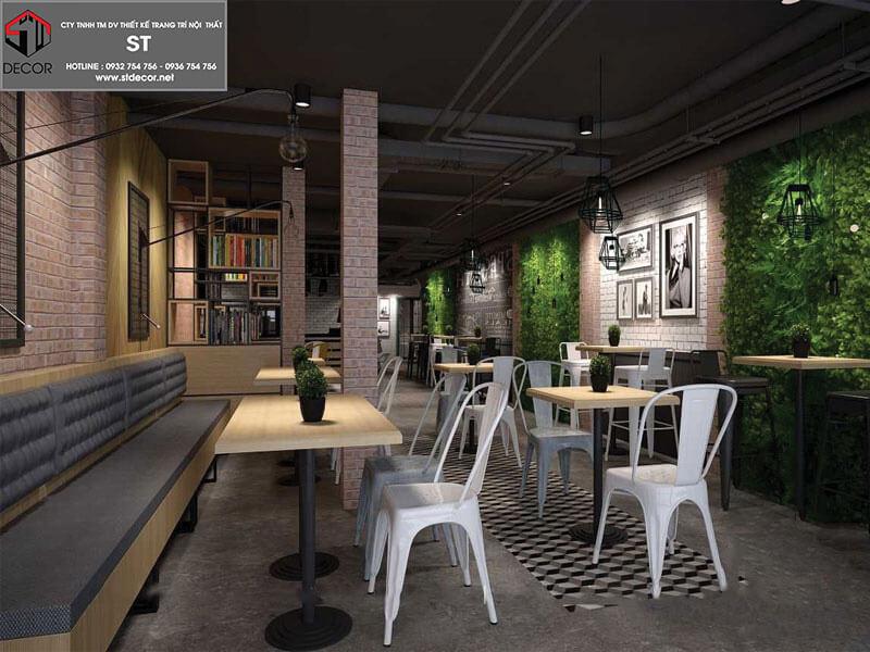 Thiết kế quán cafe chuyên nghiệp