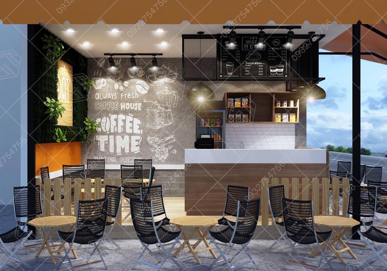 quán coffee vỉa hè