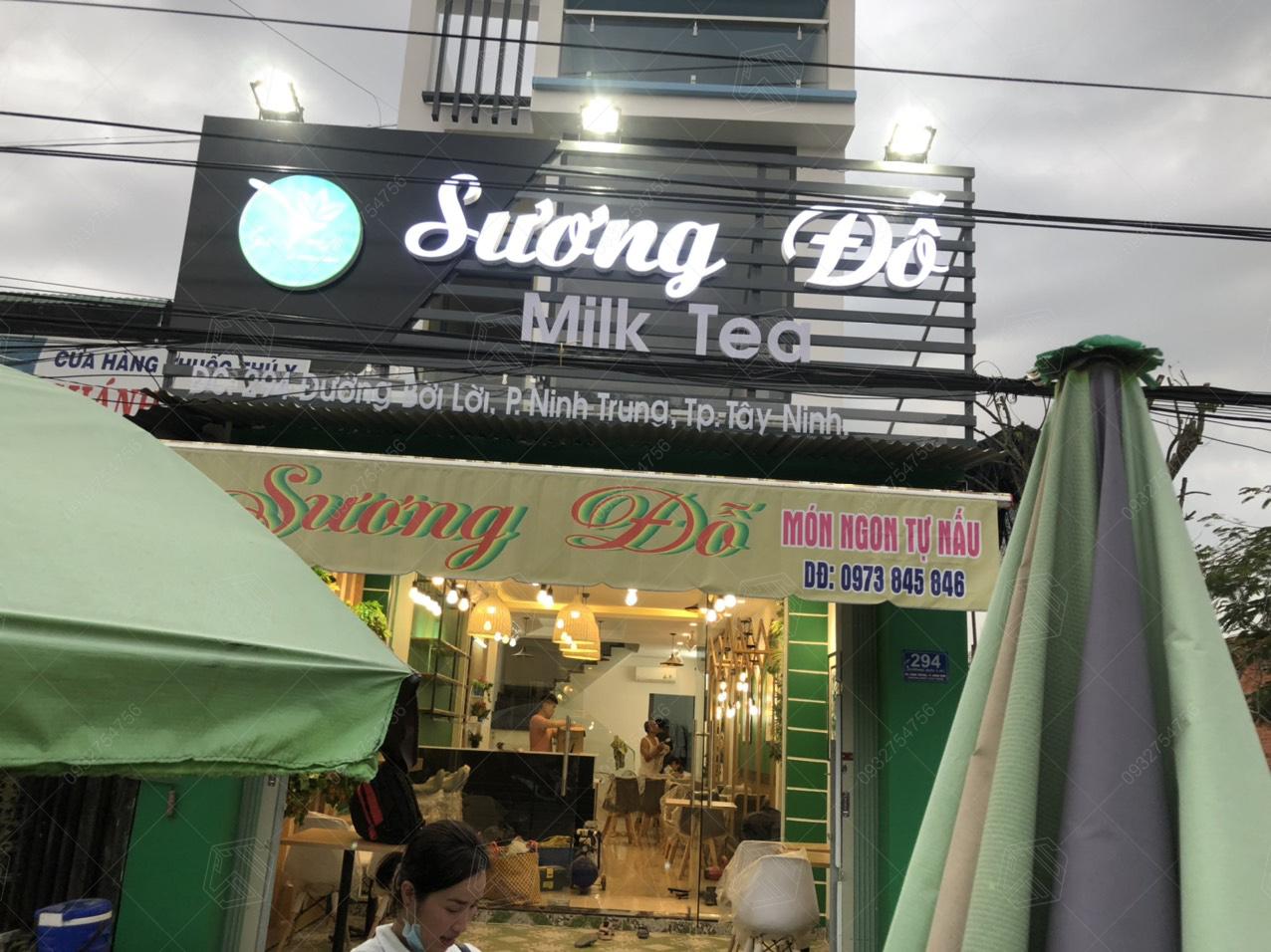thi công quán trà sữa Tây Ninh