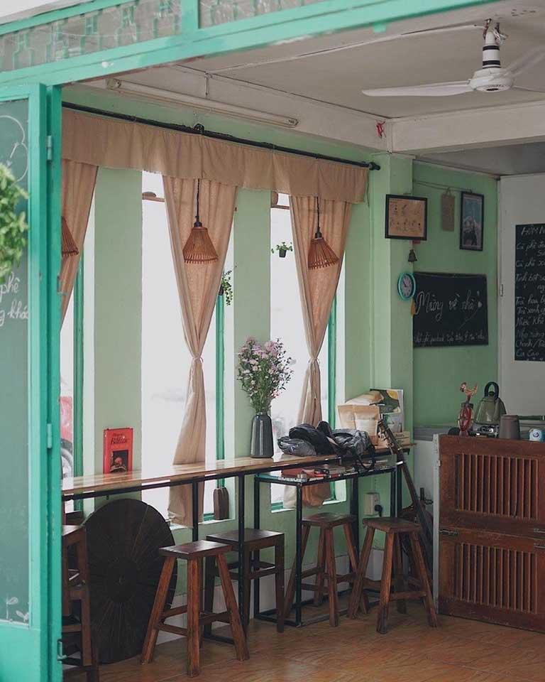 Thiết kế quán cà phê không gian xưa