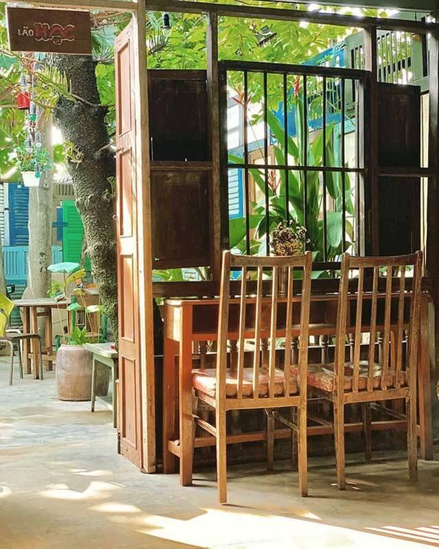 thiết kế quán cà phê không gian xưa tphcm