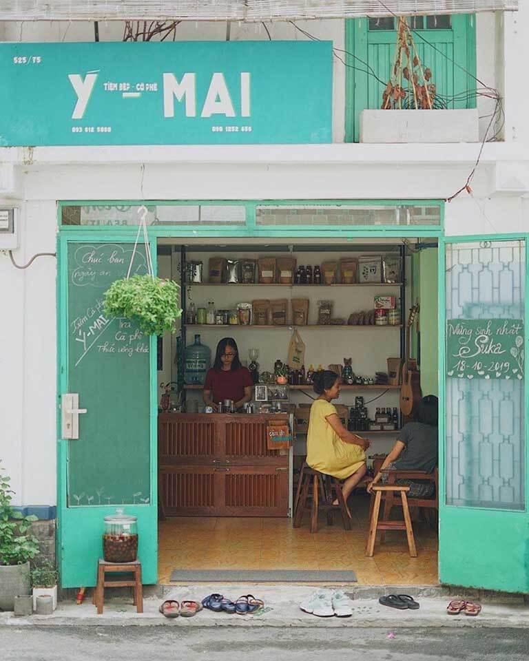 Quán cafe không gian xưa ở tphcm