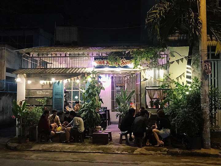 Thiết kế quán cafe không gian xưa
