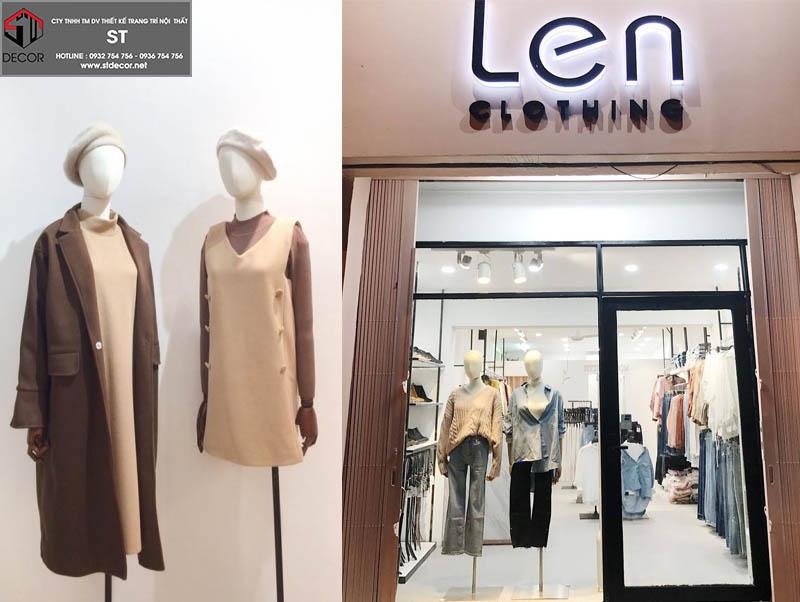 shop thời trang thiết kế đẹp ở sài gòn