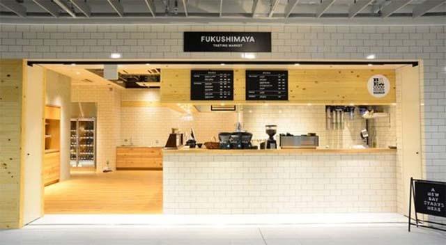 thiết kế quán trà sữa taka away
