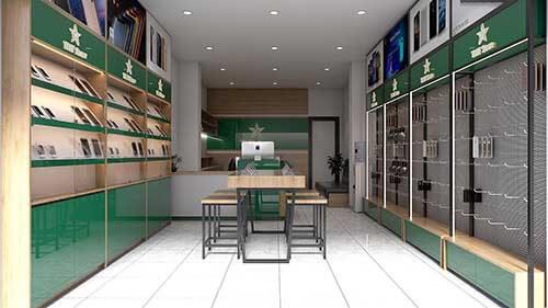 Thiết kế cửa hàng di động