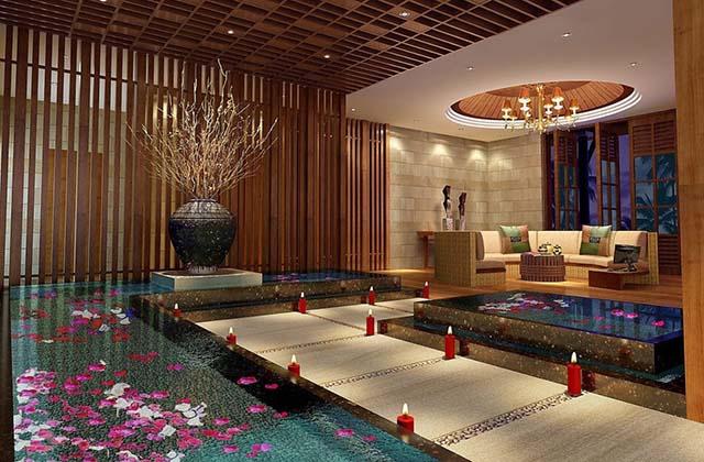 thiết kế spa resort