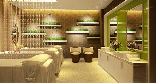 thiết kế spa trị liệu