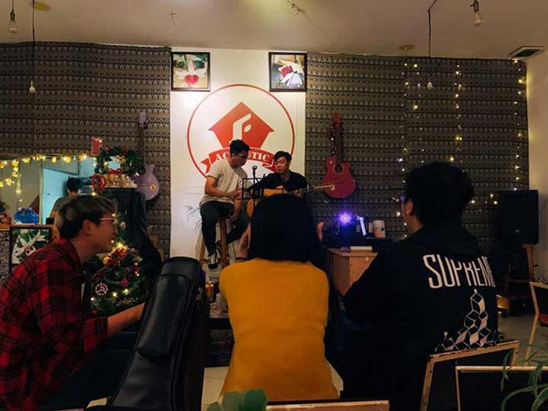 Quán cafe Acoustic quận Bình Thạnh