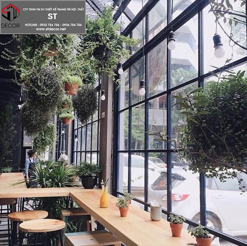 Mẫu thiết kế quán cà phê rẻ đẹp