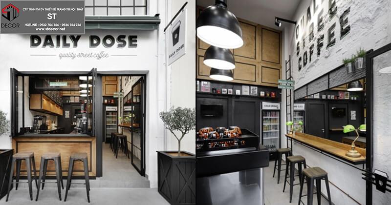 Thiết kế quán cà phê mang đi