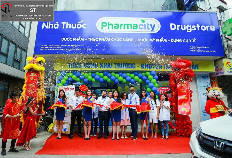 Thiết kế nhà thuốc pharmacity
