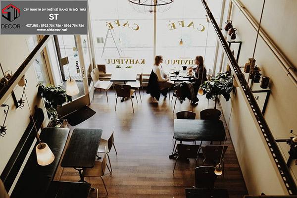 Những mẫu thiết kế quán ăn đẹp