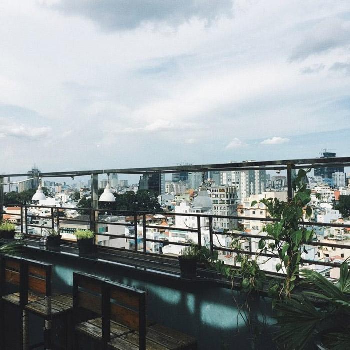 Những quán cà phê view đẹp tại Sài Gòn cho giới trẻ