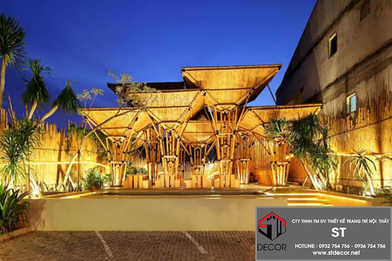 Thiết kế nhà hàng 300m2