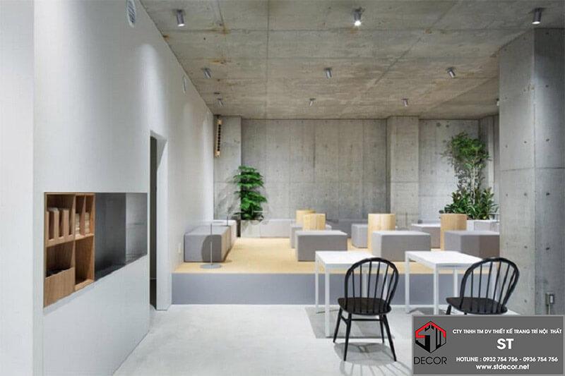 Thiết kế quán cafe 300m2