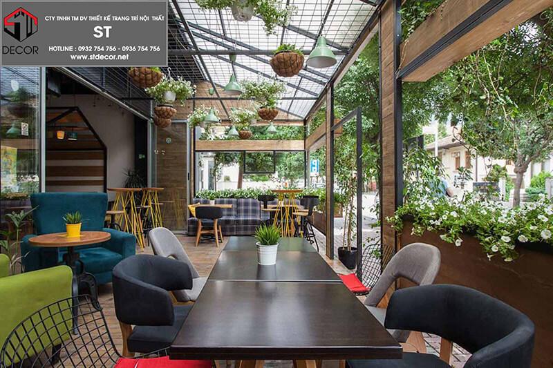 Cách thiết kế 1 quán cafe