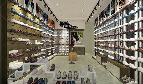 Cách bài trí cửa hàng giày dép