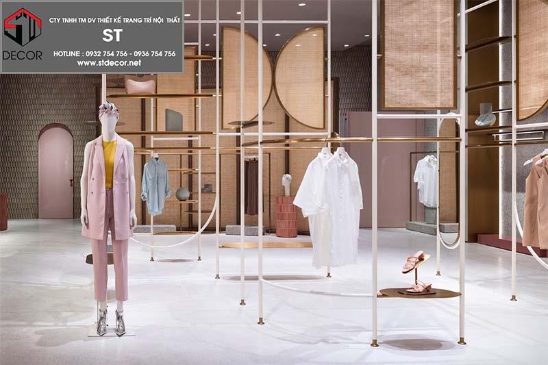 cách thiết kế shop quần áo thời trang